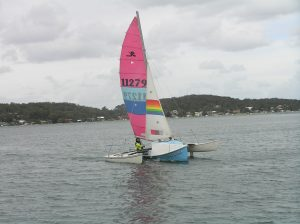 Surf Trimaran Tri Hobie multihull sailing