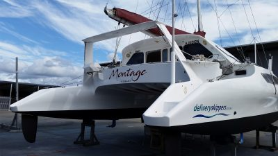 Delivery Skippers Catamaran at Boat Works Yacht Captain David Mitchell