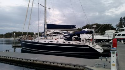 Ocean Star 561 Yacht delivery from GCCM Marine to Newcastle NSW by delivery skipper and yacht master David Mitchell