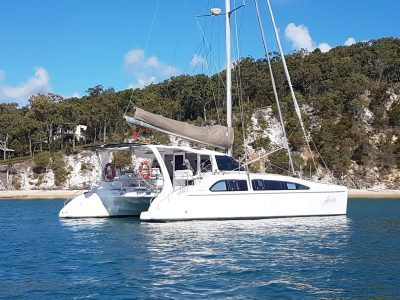 Seawind 1250 Arion Catamaran Yacht delivery by delivery skippers David Mitchell NSW