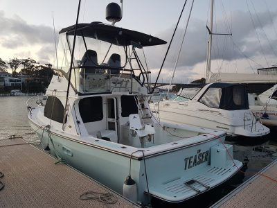 Deep V 31 Boat Delivery by Captain David MItchell Gosford to Gold Coast
