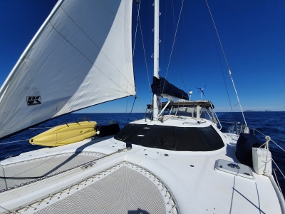 Multihull Delivery by deliveryskippers.com.au Catamaran Lioness delivered by Yacht Master David Mitchell