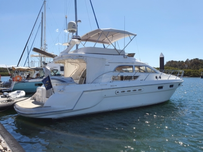 Sealine 44 Power Yacht, Indiana, skippered by delivery skipper David Mitchell from Newport to Tweed NSW