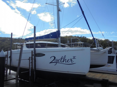 Catamaran Yacht Fountain Pajot. Boat Delivery by Skipper David Mitchell from Sydney to Melbourne