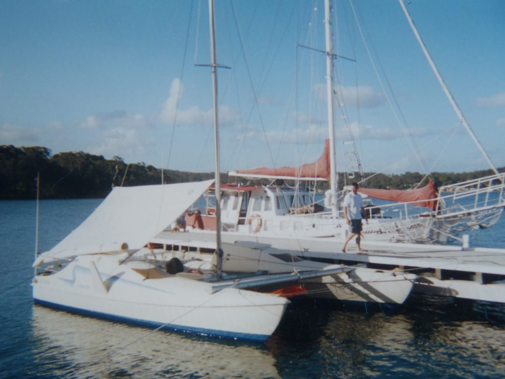 Seawind 24 Catamaran Lake Macquarie yacht skipper David Mitchell nsw Australia