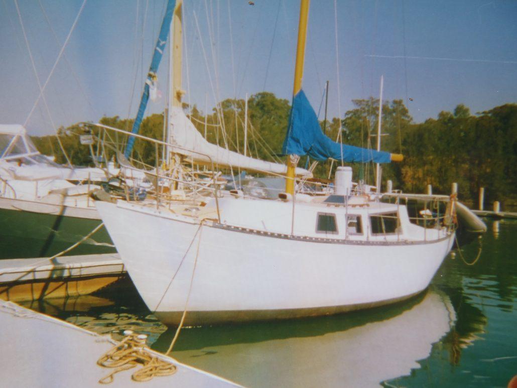 Yacht Roberts 29 Matilda, Marmong cove, NSW, Australia