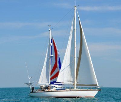 Amel Super Maramu Yacht Delivery by Jamie Mitchell of deliveryskippers.com.au