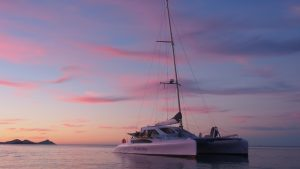 Big Wave Rider Chamberlin Catamaran - Multihull delivery skipper - David Mitchell - Australia