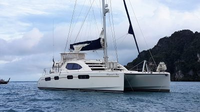 Leopards Den Leopard Catamaran yacht delivery Keppel bay to Lake Macquarie NSW
