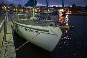 Yacht delivery Hobart to Sydney Australia