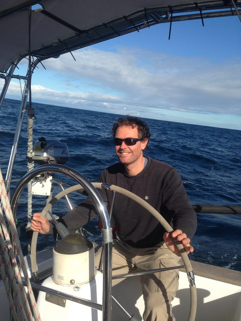 David Mitchell - Yacht delivery skipper crewing on ancient mariner