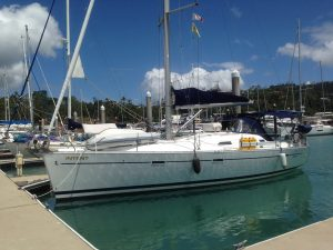Beneteau Delivery Whitsundays to Gold Coast by David Mitchell