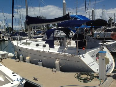 Sun Odyssey yacht delivery from Townsvill to Lake Macquarie NSW by skipper David Mitchell
