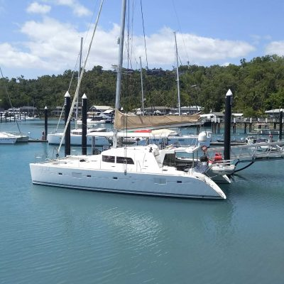 Lagoon 50 Catamaran Delivery Skipper Captain Jamie Mitchell Queensland