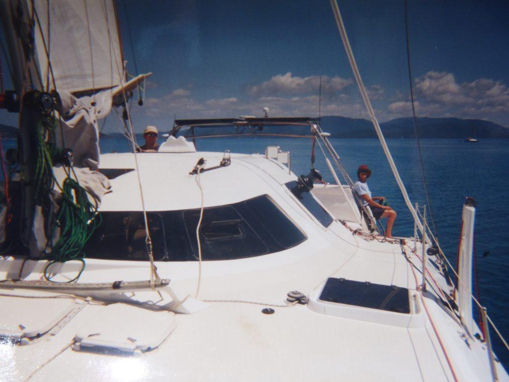Crowther Catana Catamaran trans Tasman yacht delivery David Mitchell Australia