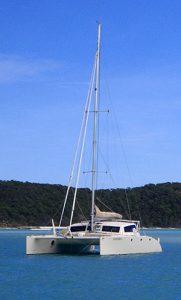 Fantasia multihull yacht Catamaran Master